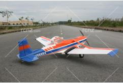 VQ Model - Cessna 188 AgWagon EP/GP 60-90 Size ARF - Blue/Orange image