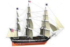 Billing - 1/100 USS Constitution Boat Kit  image