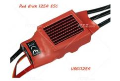 RCNZ - 125A Red Brick Brushless ESC 5A/BEC image