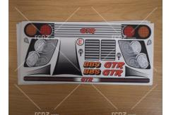 Frewer - 1/10 GTR BBS Sticker Set image