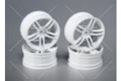 CS Model - 1/10 Wheel Set 5 Spoke White 26mm image