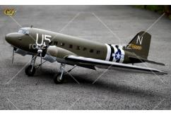 VQ Model - DC-3 EP/GP 25 Size US Army Version ARF image