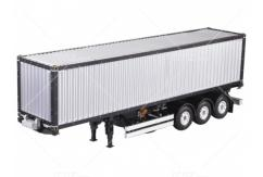 Hercules Hobby - 1/14 3-Axle 40 Foot Container Trailer image