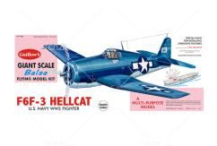 Guillow's - F6F3 Hellcat Balsa Kit image