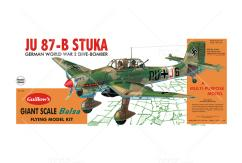 Guillow's - JU87B Stuka Balsa Kit image