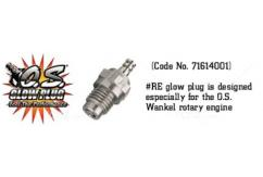 O.S - #RE Glow Plug for Wankel Engines image