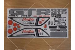 Frewer - 1/10 GTR Sticker Set image