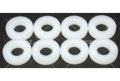 Dubro - 1/4 Nylon Flat Washer  image