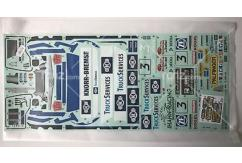 Tamiya - 1/14 Team Hahn MAN Racing Truck Sticker Set (58632) image