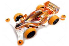 Tamiya - 1/32 Aero Avante Clear Orange SP Special Ltd (AR Chassis) Mini 4WD image