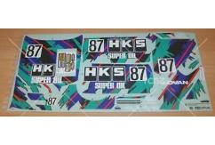Tamiya - 1/10 Skyline GT-R HKS Sticker Set (58140) image