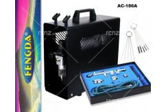Fengda - Compressor with Pro Gravity Airbrush & Spares image