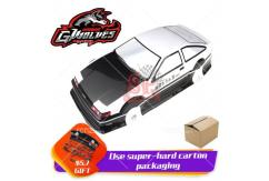 G-Wolves - 1/10 Toyota Trueno AE86 Pre-Painted Body Shell image