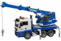 Bruder - MAN TGS Crane Truck with Light & Sound image
