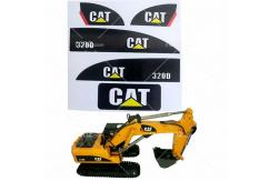 RCNZ - CAT 320D Sticker Set for HuiNa R/C Excavator image