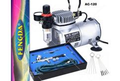 Fengda - Standard Mini Compressor with Gun, Kit & Tools image