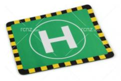 RCNZ - Helicopter Landing Mouse Pad image