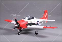 FMS - T-28 Trojan V2-Red PNP 800mm Wingspan image