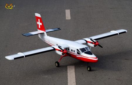 VQ Model - DHC-6 Twin Otter EP 25 Size ARF - Swiss Version
