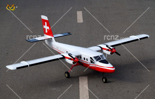 VQ Model - DHC-6 Twin Otter EP 25 Size ARF - Swiss Version image