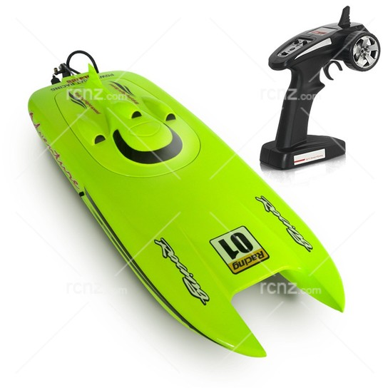 Heng Long - Adventure Racing R/C Speed Boat Complete - 30+km/h image